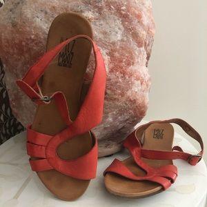 Mis Moos Sandals - Orange